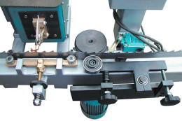 Bandsägen-Zahnspitzen-Härteanlage Typ BHM 80-2